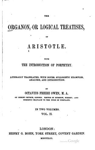 Organon by aristotle download side effects of high dose steroids