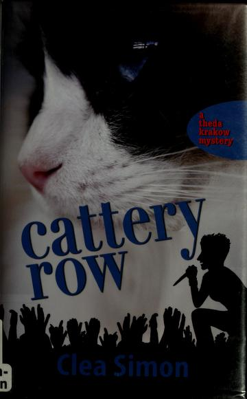 Cover of: Cattery Row | Clea Simon