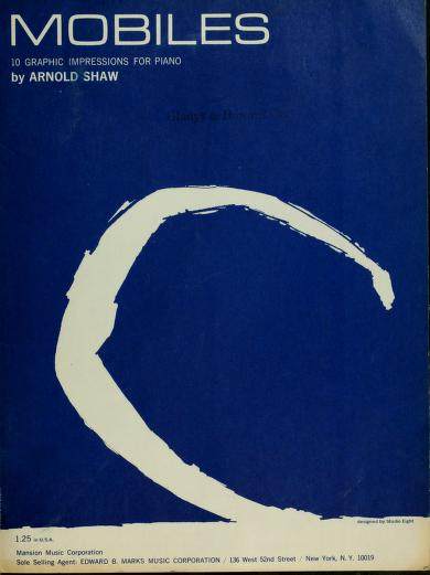 Mobiles by Arnold Shaw