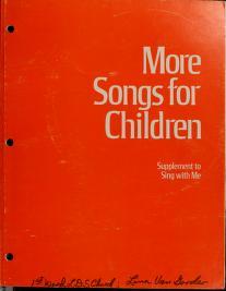 More Songs for Children (1978)