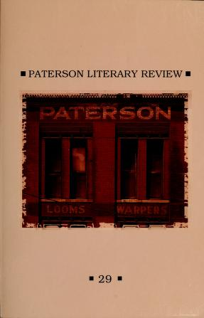 Cover of: Paterson literary review by Passaic County Community College