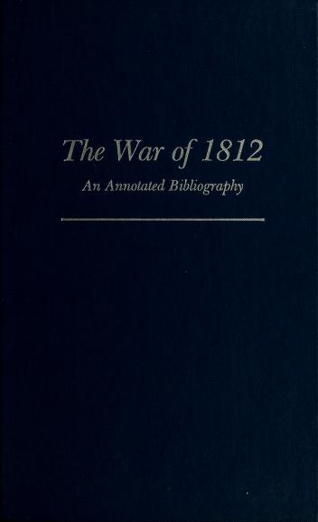 Cover of: The War of 1812 | Dwight La Vern Smith