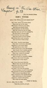 Zion's Future (1862)